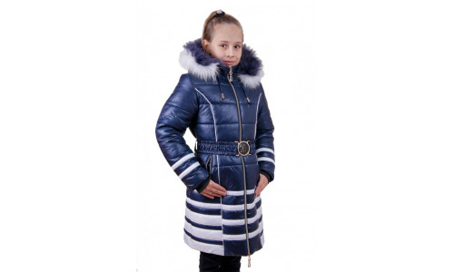 Детское зимнее пальто после лета