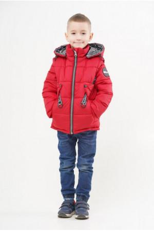 Куртка с отстежными рукавами демисезонная