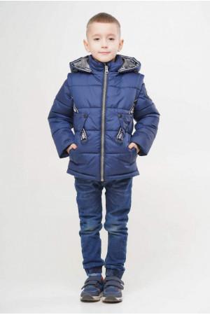 Демисезонная куртка-жилет для мальчика
