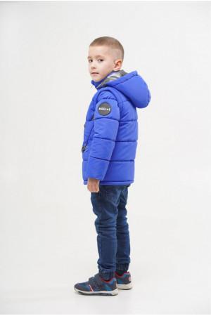 Демисезонная куртка для мальчика со съемным капюшоном