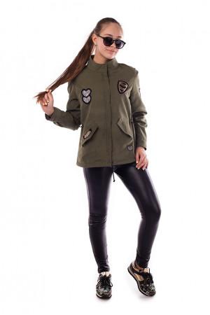Легка куртка для дівчинки