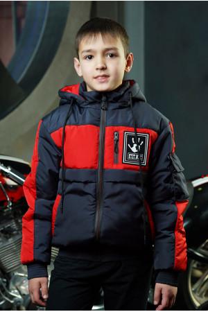 Красная детская куртка Энди