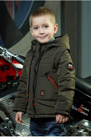 Демісезонна куртка - жилет для хлопчика