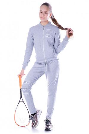 Подростковый спортивный костюм с паетками