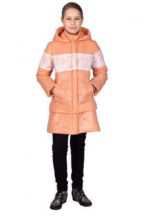 Ванильная демисезонная куртка-трансформер для девочки