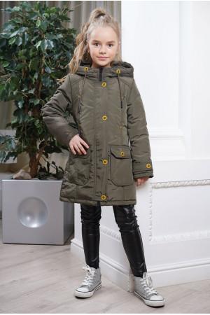 Парка-куртка для девочки демисезонная