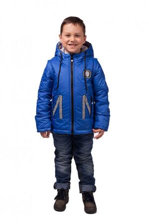 Куртка со съёмными рукавами для мальчика