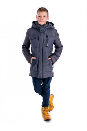 Демісезонне графітова куртка