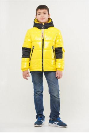 Яркая демисезонная куртка для мальчика