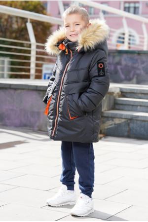 Зимняя куртка с капюшоном для мальчика