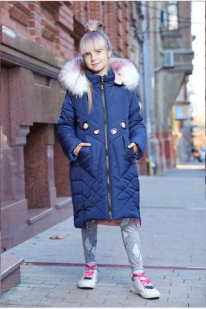 Длинная женская куртка для девочки с люверсами