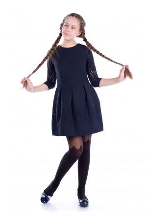 Темно-сині шкільне плаття