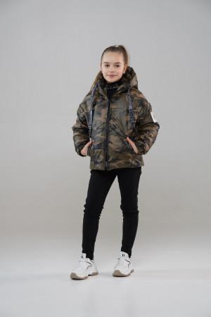 Куртка для дівчинки Міленіум хакі