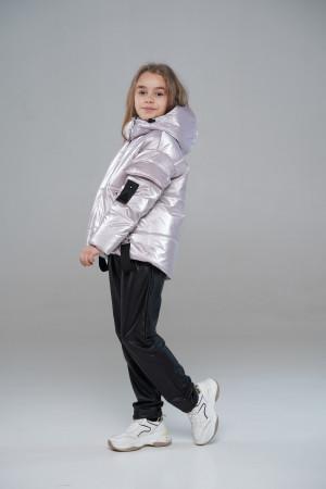 Блискуча куртка для дівчаток