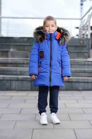 Зимняя куртка цвета электрик для мальчиков
