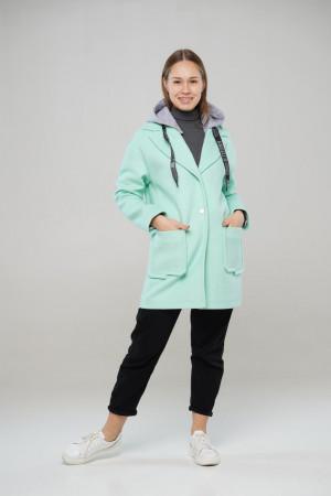 Підліткове м'ятна пальто Ф'южен