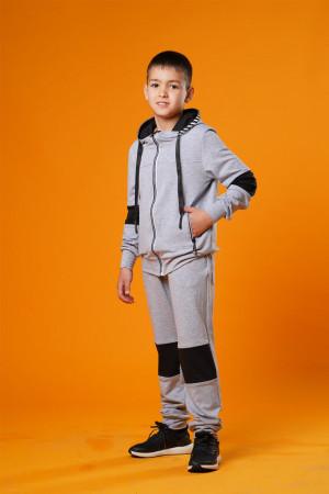 Серый спортивный костюм для мальчика