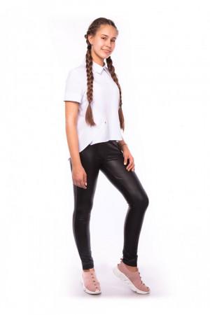 Біла шкільна блузка для дівчинки