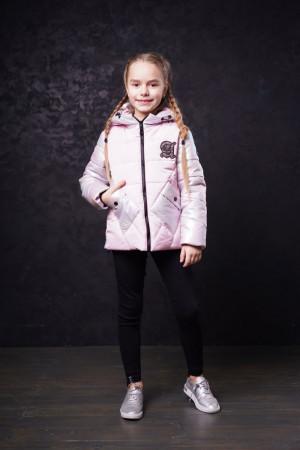 Светло-сиреневая демисезонная куртка для девочек