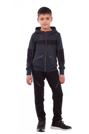 Стильний темно-сірий спортивний костюм для хлопчиків