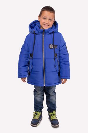 Зимняя курточка для мальчиков цвета электрик