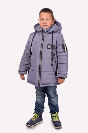 Серая зимняя курточка для мальчиков