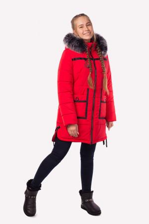 Зимняя куртка красного цвета