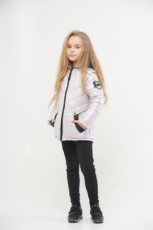 Куртка для девочки нежно-сиреневого цвета