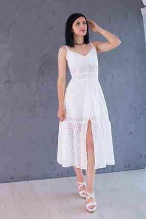 Белый сарафан для женщин