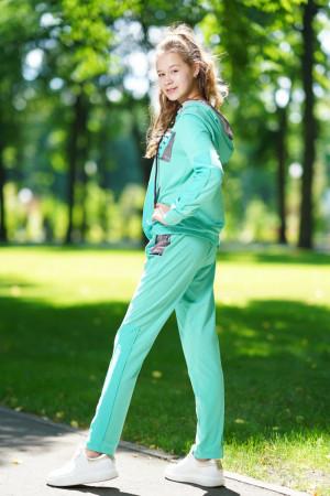 Спортивный костюм для девочек мятного цвета