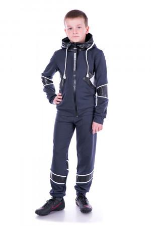 Спортивний костюм сірого кольору для хлопчиків